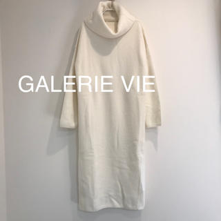 TOMORROWLAND - GALERIE VIE タートル ウールアンゴラ ワンピース