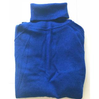 ディーエイチシー(DHC)のDHC ウール100% タートルネックセーター♡美品(ニット/セーター)