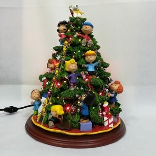 ピーナッツ(PEANUTS)のレア!PEANUTS SNOOPY クリスマス・ツリー ダンバリーミント (キャラクターグッズ)