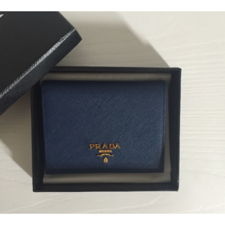 PRADA - プラダ 二つ折り財布