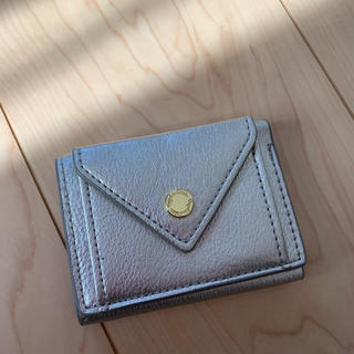 シマムラ(しまむら)のミニ財布 シルバー コンパクト(財布)