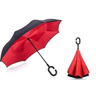 両手が外れる!逆折り式傘(傘)