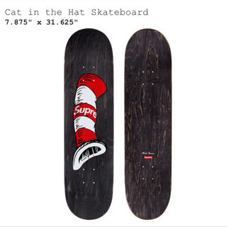 シュプリーム(Supreme)のsupreme cat in the hat skateboard(スケートボード)