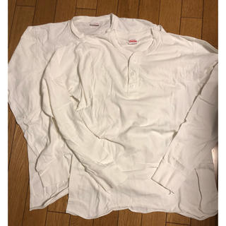 ダブルアールエル(RRL)のヘルスニット  ヘンリーロンT(Tシャツ/カットソー(七分/長袖))