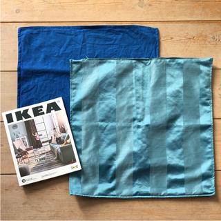 イケア(IKEA)のIKEAクッションカバー HENRIKA マリンテイスト 暮らし インテリア(クッションカバー)