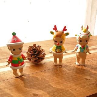 ソニーエンジェル クリスマス 2017 SonnyAngel キューピー 3体