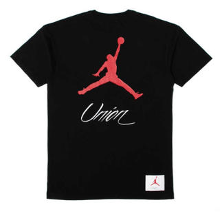 NIKE - 黒L AS NRG VLT FLT TEE JM X UNION