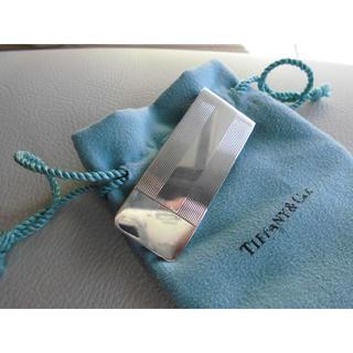 ティファニー(Tiffany & Co.)の【正規品】ティファニーTIFFANY&Co.マネークリップSV925(マネークリップ)