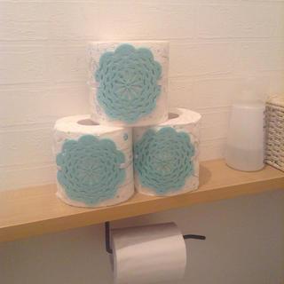 トイレットペーパーを可愛く収納するやつ(トイレ収納)