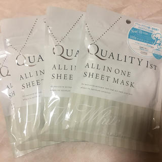 クオリティファースト(QUALITY FIRST)のクオリティファーストシートマスク ホワイト(その他)