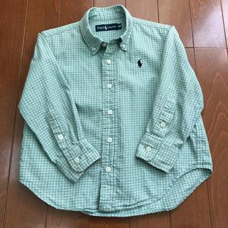 ラルフローレン(Ralph Lauren)のラルフローレンシャツ 100㎝ キッズ(ブラウス)