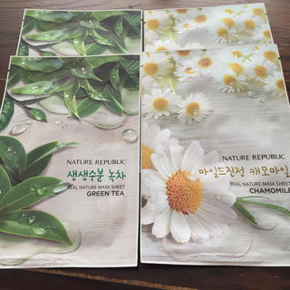 ネイチャーリパブリック(NATURE REPUBLIC)の韓国 パック ネイチャーリパブリック(パック / フェイスマスク)