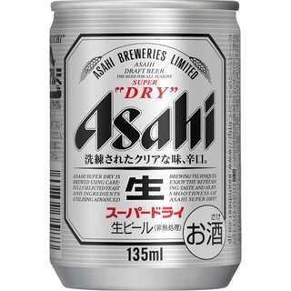 154.アサヒ スーパードライ 135ml×24本(ビール)