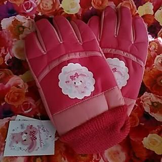 サンリオ(サンリオ)の可愛い❤キッズ・ぼんぼんりぼん手袋新品未使用7~8さぐらい用(手袋)