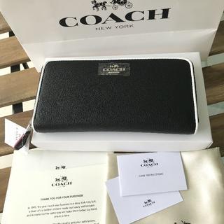 COACH - 【新品】正規品 COACH コーチ 長財布 ユニセックス F12585