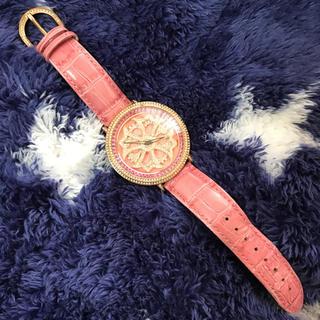 ガガミラノ(GaGa MILANO)のBRILLAMICO ブリラミコ 時計 腕時計 レザー ピンク(レザーベルト)