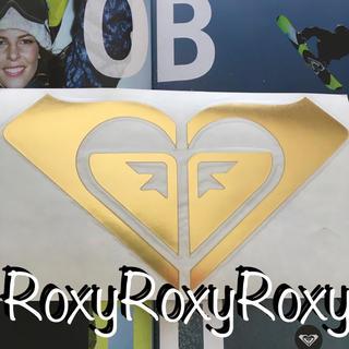 Roxy - ROXYロキシーUS限定BIGダイカットICONステッカーGOLD