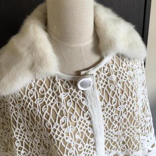 ヴァレンティノ(VALENTINO)のリアルファー 襟コート(毛皮/ファーコート)