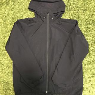ジーユー(GU)のGU ウィンドブレーカ 黒 XL(ナイロンジャケット)