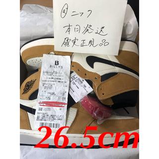 NIKE - ☆AIR JORDAN 1 ROOKIE☆ ジョーダン1 ルーキー 26.5cm
