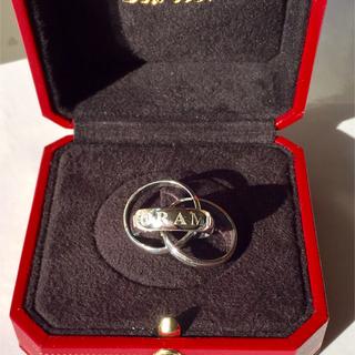 カルティエ(Cartier)の カルティエ  トリニティ リング  750(リング(指輪))