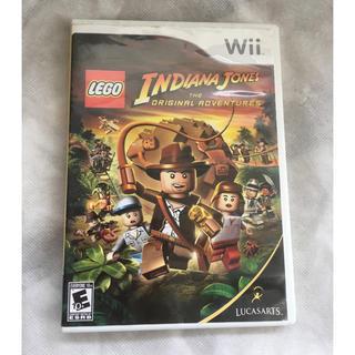 Wii - ♪米国購入Wiiゲームソフト✴︎レゴ版インディアナ・ジョーンズ