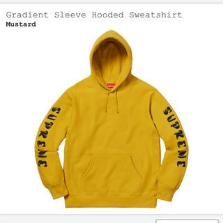 シュプリーム(Supreme)のGradient sleeve hooded sweatshirt (パーカー)