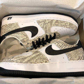 NIKE - 27.0 US9 NIKE Air Force 1 cocoa snake