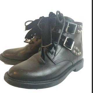 サンローラン(Saint Laurent)のsaint laurent leather ankle boots(ブーツ)