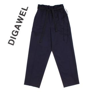 ディガウェル(DIGAWEL)のDIGAWEL ダブルベルトウールパンツ 定価32,400円 size2(その他)