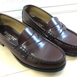 ハルタ(HARUTA)のHARUTA  ハルタ ローファー レディース ブラウン24センチ(ローファー/革靴)