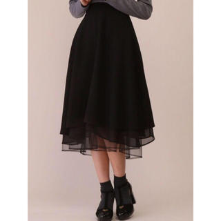 ハニーサロン(Honey Salon)のハニーサロン リバーシブルチュールスカート(ひざ丈スカート)