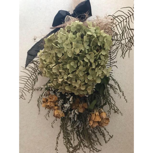 チャオ様専用Dried flower ~ antique asymmetry ハンドメイドのフラワー/ガーデン(ドライフラワー)の商品写真