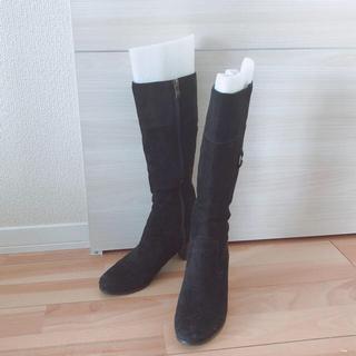 イング(ing)のing スエード ロングブーツ 22.5cm(ブーツ)