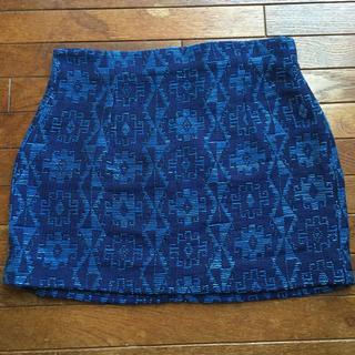 ザラ(ZARA)の❁ ZARA ザラ 未使用 ネイティブ 刺繍スカート (ミニスカート)