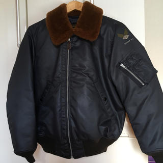 ダブルアールエル(RRL)のRRL shearling collar down jacket(ダウンジャケット)