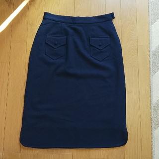 メリージェニー(merry jenny)のmerryjenny ネイビースカート(ひざ丈スカート)