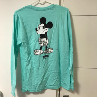 ネフ(Neff)のディズニー NEFF コラボTシャツ 新品 レディースS キッズL(Tシャツ(長袖/七分))