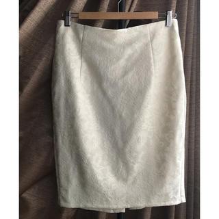 ザラ(ZARA)のZARA(ザラ ) レースタイトスカート Lサイズ(ミニスカート)