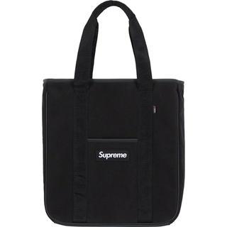 シュプリーム(Supreme)の黒 supreme Polartec® Tote トートバッグ(トートバッグ)