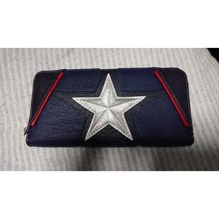 マーベル(MARVEL)のLOUNGEFLY MARVEL キャプテンアメリカ ウォレット 長財布(長財布)