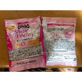 ザバス(SAVAS)の【お試しに❤︎】明治ザバス二食分セット(プロテイン)