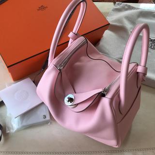 エルメス(Hermes)の極美品♡エルメス♡リンディ26ローズサクラ(ハンドバッグ)