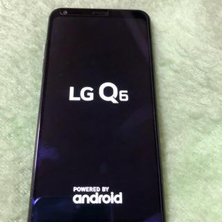 エルジーエレクトロニクス(LG Electronics)のLG Q6 (SIMフリー)(スマートフォン本体)