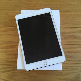 アップル(Apple)のipad mini4 docomo 16gb セルラー ゴールド(タブレット)