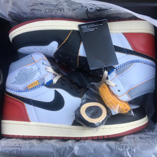 NIKE - union air Jordan 1 us10
