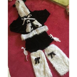 デイジーストア(dazzy store)のクリスマス 猫耳サンタ コスプレ(衣装一式)