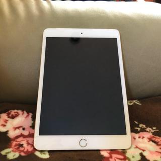 アップル(Apple)のiPad mini3 16GB ゴールド docomo(タブレット)