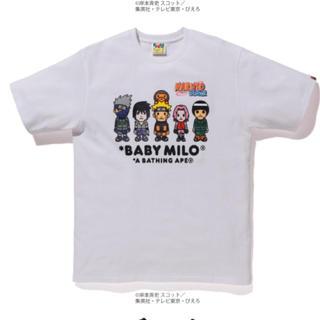 A BATHING APE - 【新品】BAPE ナルト ボルト Tシャツ