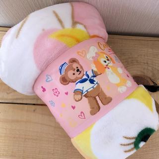 ディズニー(Disney)の香港ディズニー限定!ダッフィーフレンズ クリスマス ブランケット(おくるみ/ブランケット)
